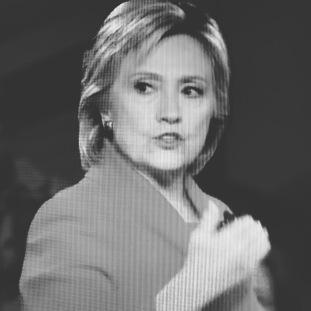 Hillary svartvit